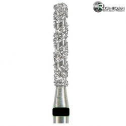 Romidan RomiSpiral FG Burs Round End Cylinder, Extra Coarse, S/141.FG (5pcs/pack)