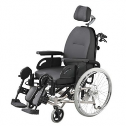 Tilt-In-Space Reclining-Rehab Manual Wheelchair (Self Propelled) (R106)