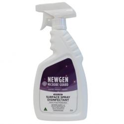 Newgen Microbe Guard Hospital Grade Surface Spray Disinfectant, 750ml Per Bottle