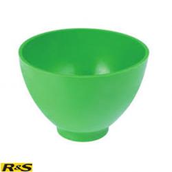 R&S Flexible Alginate green bowl