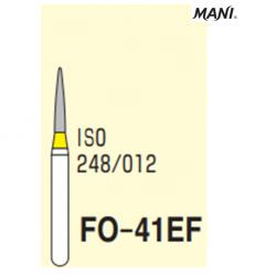 MANI Diamond Bur Flame Shaped FO-41EF (5pcs/pack)