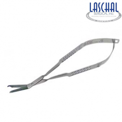 Laschal13.5 cm Littauer scissors w/ 2.0 cm straight blades 45' angle