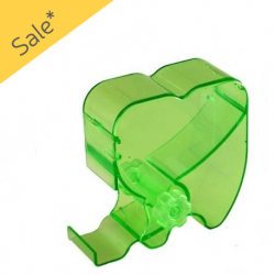 Cotton Roll Dispenser- Rolling Type Green