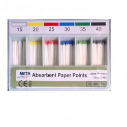 Meta Absorbent Paper Points (200 pts)