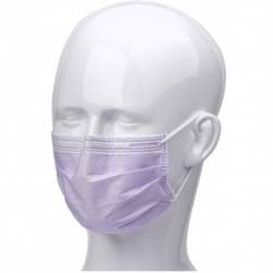 Ultra Sensitive Type IIR Ear Loop Face Masks with Shield, 25/Box (10+1 promotion)