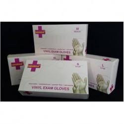 Labskins Vinyl Synthetic Examination Gloves Powder-Free, Per Carton