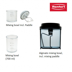 Renfert Vacuum Mixing Unit Accessories