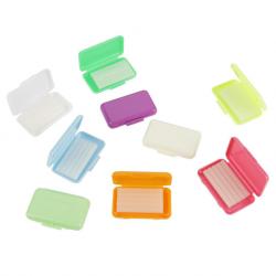 Dental Ortho Wax Brace Fruit Scent Gum Irritation Set, 50pcs/set
