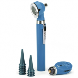 KaWe Fibre Optic LED Otoscope + 1 tube of Ear Funnels