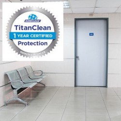 Professional Clinic Disinfection Service with Titan 365 + Certification