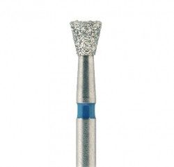 Jota Inverted Cone Diamond Bur, FG, Regular Grit, 012