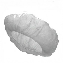 Bouffant Cap, Fluid Resistant, White (1000 pcs/carton)
