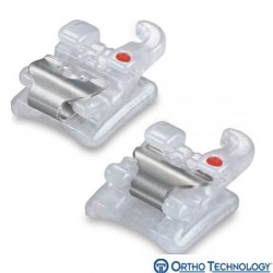Sensation Active Ceramic Self-Ligating Bracket System,Roth(10 brackets/pk)