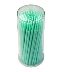 Oro Microbrush Applicator Green, Regular, 100pcs/tube, 4 tubes/box