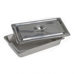 Sterilization Tray, Lid with Inverted Knob L310 X W196 X H50mm
