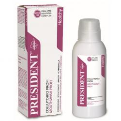 President Profi Anti-Bacterial Chlorhexidine 0.2% Mouthwash ( X8 Packs )