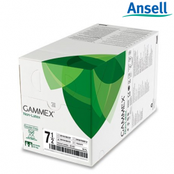 Ansell Gammex Smart Pack Non-Latex Powdered Surgical Gloves, 50 Pairs/Box