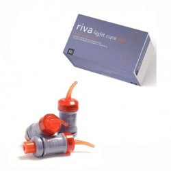 Riva Light Cure HV, Glass Ionomer (GIC), 50's/Box