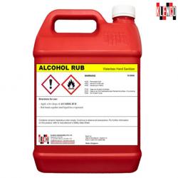 Klenco Alcohol Rub Hand Sanitizer, 5 Liter