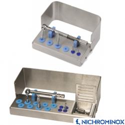 Nichrominox Implant plug in holder for Implantology instrument