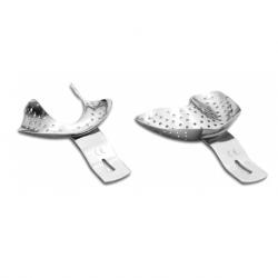 Medesy Ehricke Stainless Steel Impression Tray Kit #6010/KIT (6pcs/Kit)