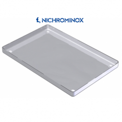 Nichrominox Non-perforated Stainless steel Instrument tray