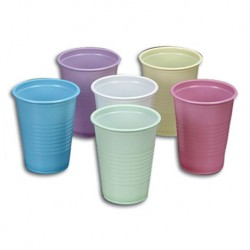 Comfort Plus Plastic Cups Coloured, 7 Oz (50pcs/pkt, 40pkt/carton)