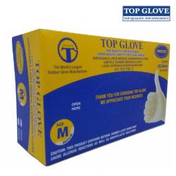 Glove Latex Examination Gloves, Powdered 100pcs/Box 10 boxes/Carton