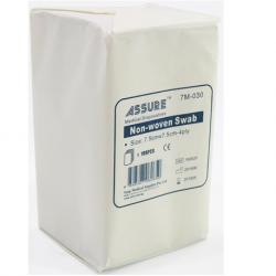 Assure Gauze Swab Non-woven 7.5x7.5cm x 4-ply, 100's/pkt
