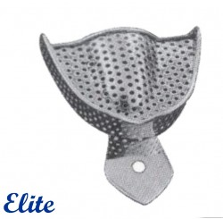 Elite Impression Tray Upper, Perforated, Dentulous