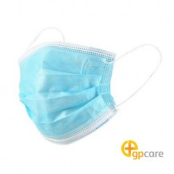 GP Care 3ply Non-Woven Disposable Face Mask, Ear-loop (50/Box)