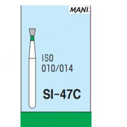 MANI Diamond Bur Inverted Cone SI-47C (5pcs/pack)