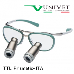 Univet TTL Prismatic ITA Surgical Loupes