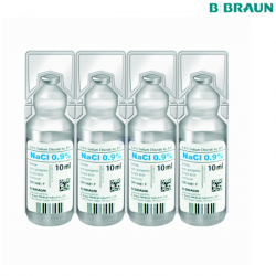 B Braun Sodium Chloride For Injection 10ml, 20 Pack/Box
