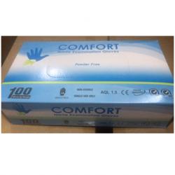 Comfort Nitrile Examination Gloves Powder-Free, 4 gm (10boxes/Carton)