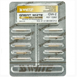SS White Great White GW2 (Gold Series) Ref. 15062 Size #12 (10pcs/pack)