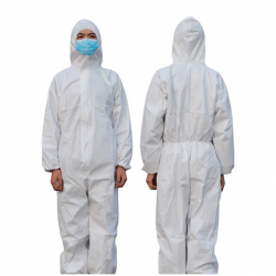 Disposable Protective Coverall Full Body Suit, White, Per Piece ($7.00/piece)
