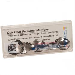 Polydentia Quickmat Sectional Matrix  0.025 mm (100 pcs.) (Refill)