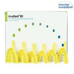 Ivoclar Accudent XD 24 Pack Dentate Trays #ACCU 673716