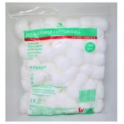 Winner Sterile Cotton Balls, 0.5gm (20/bag, 24bags/carton)