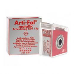 Arti-Fol Plastic Articulating Paper – 12µm, 22mm, 20m (Red)