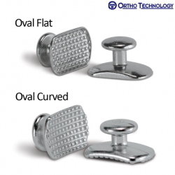 Ortho Technology Direct Bond Buttons Rectangle Base