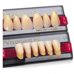 Ivoclar SR Vivodent PE Shade 1C For Anterior teeth  (set of 6)