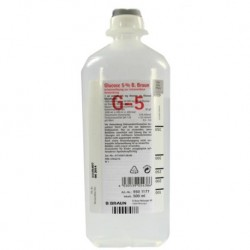 B Braun Glucose 5% Intravenous Infusion B.P. 500ml