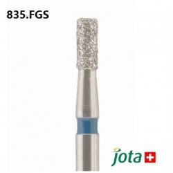 Cylindrical Diamond Bur, FG Short, 5pcs/pack (835.FGS)