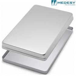 Medesy Tray Aluminium Silver - Lid #999