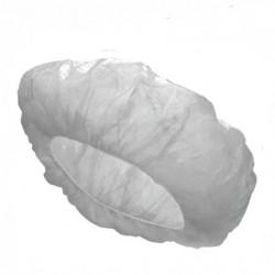 Bouffant Cap, Fluid Resistant, White (100 pcs/pack)