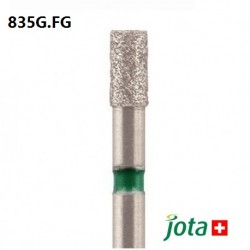 Cylindrical Diamond Bur, FG, Coarse, 5pcs/pack (835G.FG)