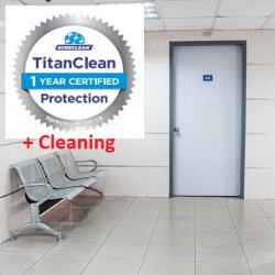 Professional Clinic Cleaning + Disinfection Service with Titan 365 Protection