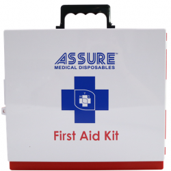 Assure First Aid Box,Empty 24cm x 13 x 5cm, ABS